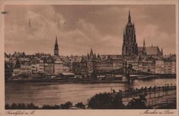 Frankfurt Main - Mainkai Und Dom - 1924 - Frankfurt A. Main
