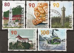 Autriche Austria 20-- Impressions Of Austria Obl - 2011-... Oblitérés