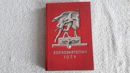 Original Buch Reichsparteitag 1938 Von 5. Bis 12. September 1938 Deutsches Reich - 1939-45