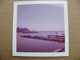 Photo Instamatic Année 70 Le Paquebot FRANCE à New York - Places
