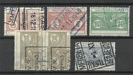 FINLAND FINNLAND 1924/49 Railway Stamps O - Paketmarken