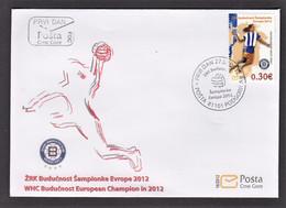 3.- MONTENEGRO 2012 HANDBALL Champion Of Europe 2012 - Pallamano