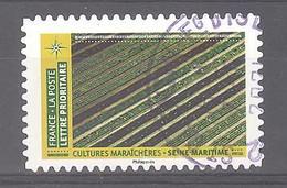 France Autoadhésif Oblitéré N°1951 (Mosaïque De Paysages : Cultures Maraîchères Seine-Maritime) (cachet Rond) - Oblitérés