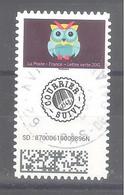 France Autoadhésif Oblitéré N°1929 (Mon Carnet De Timbre Suivis : Chouettes) (cachet Rond) - Oblitérés