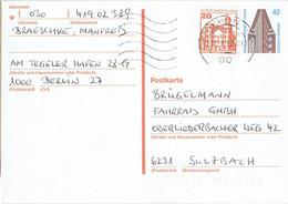 Germany / Berlin - Ganzsache Postkarte Echt Gelaufen / Postcard Used (g1023) - Postkarten - Gebraucht