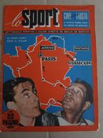 # LO SPORT N 3 -1953 TOUR - GOL CAMPIONATO / FOTO POSTER PRO PATRIA / VARIE CICLISMO / LAMBRETTA - Sport