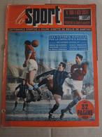 # LO SPORT N 4 -1953  COVER TRIESTINA / PIOLA NOVARA /NAPOLI -JUVE 3-2/ VARIE CICLISMO - Sport