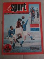 # LO SPORT N 5 -1953 COVER SPAL / JUVE - PALERMO 2-1 - Sport
