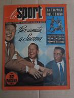 # LO SPORT N 7 -1953 COVER NOVARA / GOL CAMPIONATO / PANDOLFI ROMA - Sport
