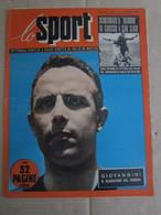 # LO SPORT N 8 -1953 COVER COMO / SENTIMENTI V LAZIO / ATALANTA SAMP 4-0 - Sport