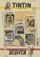 Blok 242** Postfris Blok Tintin / Kuifje / Tim & Struppi  4626/30** - Nuevos