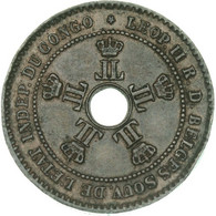 Congo Free State (Royal Domain) - Leopold II, 2 Centimes 1888, Brussels, Wiener (A1510) - 1885-1909: Leopold II