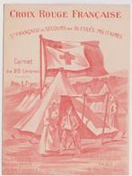 Carnet Complet 20 Vignettes CROIX ROUGE SFSBM Pensez à Nos Soldats - 1914-1915 - Croix Rouge