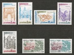 2487–Timbres De Service N° 68 à 74 ** T.B. - Mint/Hinged