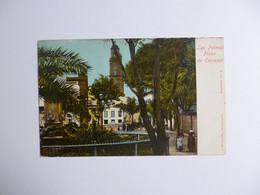 LAS PALMAS  -  Plaza De Cairasco    -   ESPAGNE - La Palma