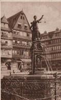 Frankfurt - Gerechtigkeitsbrunnen - 1941 - Frankfurt A. Main