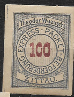 Deutsche Privatpost,  Postfrischer Wert Der Ausgabe Express-Packet-Beförderung Zittau Von - Private