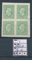 BELGIAN CONGO 1886 ISSUE COB 1 LENOIR'S REPRINT WITH GUM - 1884-1894 Precursori & Leopoldo II