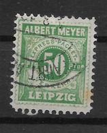 Deutsche Privatpost Leipzig, Schöner Wert  Der Express Packet-Verkehr-Gesellschaft Von 1897, Strich Im P - Private
