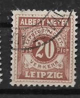 Deutsche Privatpost Leipzig, Schöner Wert  Der Express Packet-Verkehr-Gesellschaft Von 1892 - Private
