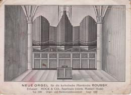 57 - ROUSSY LE VILLAGE - NOUVEL ORGUE DE L'EGLISE - Altri Comuni
