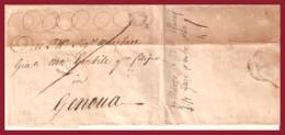 1760, Da LONDRA A GENOVA VIA FORWARDEr IN PARIGI - Andere