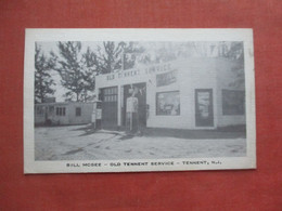 Bill McGee Gas Station  Tennent    New Jersey >    Ref 5198 - Zonder Classificatie
