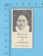 Reliquaire De Poche, Relique De Ste Thérèse De L'enfant Jesus, Tissu Touché Aux Ossements, Reliquia, Relic - Religion & Esotérisme