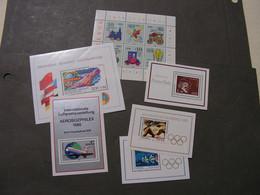DDR  Blöcke Lot  ** MNH - Blocks & Sheetlets