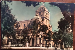 CPSM, PALMA DE MALLORCA - HOTEL CIUDAD JARDIN, ROTGER, éd Zerkowitz, écrite, ISLAS BALEARES, ESPAGNE - Palma De Mallorca