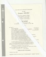 Bulskamp, Herentals, Rijkswachter, Jacques Decru, Millecam, Smaeghe, Debeerst, - Images Religieuses