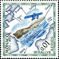 Monaco Poste N** Yv: 637/651 Cinquantenaire Du Rallye Aérien De Monaco - Nuevos