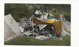 ( 4349) Italie  Guerre 1914 1918 ALPINI - GLI UFFICI DELLO STATO MAGGIORE AL CAMPO - War 1914-18