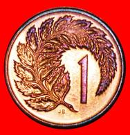 * SILVER FERN: NEW ZEALAND ★ 1 CENT 1983 UNC MINT LUSTRE DIE A! LOW START ★ NO RESERVE! - Nuova Zelanda