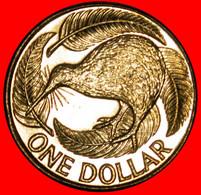 * KIWI BIRD (1999-2021): NEW ZEALAND ★ 1 DOLLAR 2015 UNC MINT LUSTRE! LOW START ★ NO RESERVE! - Nuova Zelanda