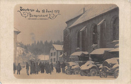 Damprichard - Carte Photo - Souvenir Du 18 Avril - Andere Gemeenten