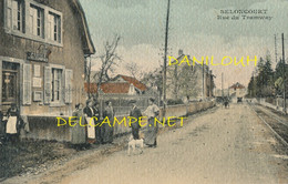 25 // SELONCOURT   Rue Du Tramway  / Bureau De Poste à Gauche - Other Municipalities