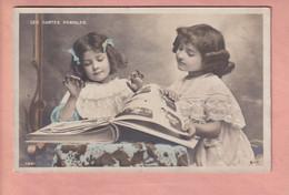 OLD  POSTCARD -  DELTIOLOGY - POSTCARD ALBUM - CHILDREN - GIRLS - LES CARTES POSTALES - Other