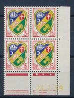 FRANCE - COIN DATE DU 23 FEVRIER 1959 ALGER N°1195 NEUF** SANS CHARNIERE - 1960-1969