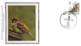 [906503]B/TB//-Belgique 1989 - N° 2347, BRUXELLES - 1 - BRUSSEL, Moineau Friquet, Oiseaux, Animaux - 1981-90