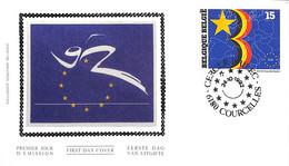 [906629]B/TB//-Belgique 1992 - N° 2485, COURCELLES, Ouverture Du Marché Européen - 1991-00