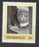 Personalisierte BM Tiergarten Schönbrunn Koala ** Postfrisch - Private Stamps