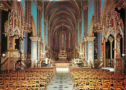 13 - Tarascon - Abbaye Saint Michel De Frigolet - Intérieur De L'église Abbatiale - Carte Neuve - CPM - Voir Scans Recto - Tarascon