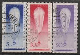RUSSIE - N°38/40 Obl (1933) Ascension Des Savants - Usati