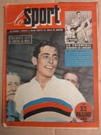 # LO SPORT N 36 -1953 FAUSTO COPPI CAMPIONE DEL MONDO / VARIE CICLISMO - Sport