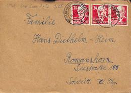 D - [902786]TB//-Allemagne 1948 -  Personnalités - Brieven En Documenten