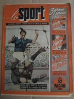 # LO SPORT N 39 -1953 GENOA JUVE 0-3  / VARIE CICLISMO - Sport