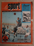 # LO SPORT N 41 -1953 LEGNANO INTER / 2° GIORNATA CAMPIONATO / COVER PRAEST JUVE  / VARIE CICLISMO - Sport