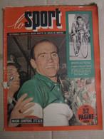 # LO SPORT N 42 -1953  MAGNI CAMPIONE D'ITALIA / VARIE CICLISMO / PUBBLICITA' GILERA - Sport