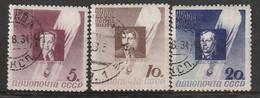 "RUSSIE - PA N°46/8 Obl (1934) Ballon ""Sirius"" - Usati"